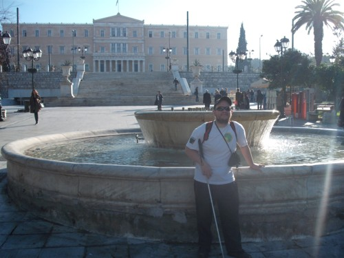 Syntagma Square, Athens, 17th Nov 2009.