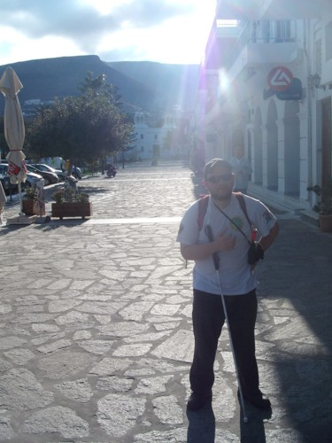 Tony in Paros, 18th November 2009