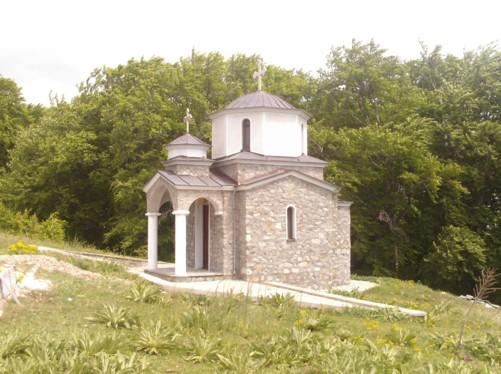 A small chapel.