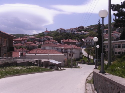 A view of Krusevo town.