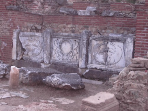 Ancient city of Heraclea, Bitola.