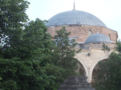 Dome of Mustafa Pasha Mosque.