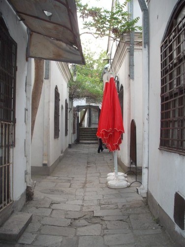 A street in Carsija (the old trading district or bazaar).