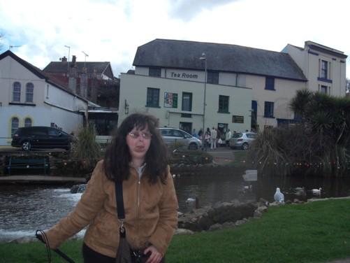 Tatiana, Dawlish park.