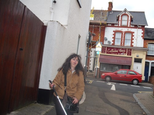 Tatiana, side street, Dawlish.