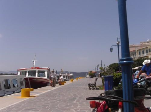 View of Poros Harbour.