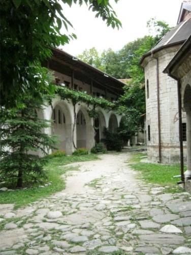 Monastery buildings.