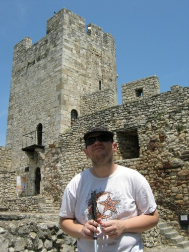 Tony at Kalemegdan Fortress.