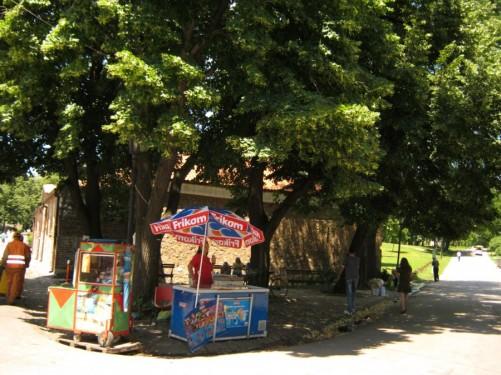 Park inside Niš fortress.