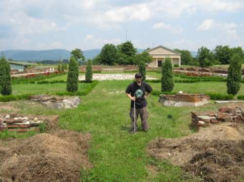 Roman remains at Mediana archaeological site.