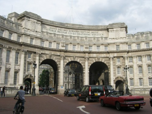 Admiralty Arch, The Mall.