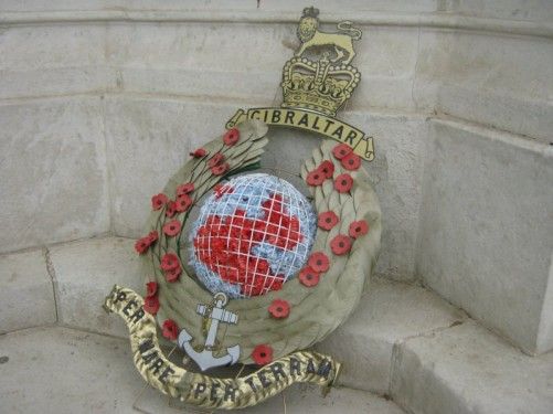 Royal Marine Memorial, The Mall, London.