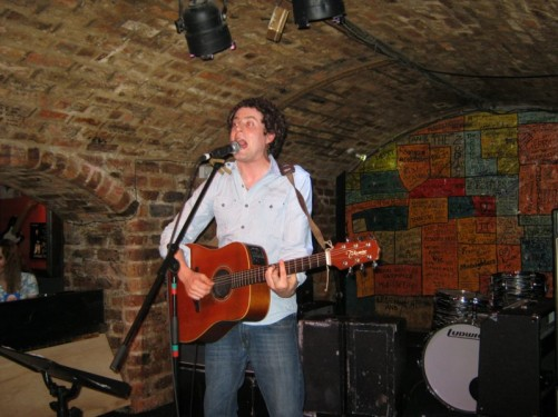 Singer, The Cavern, Liverpool.