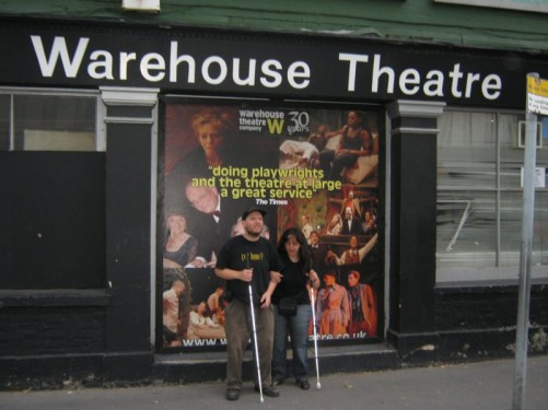 Tony & Tatiana, Warehouse Theatre, East Croydon, London, 29th July 2010.