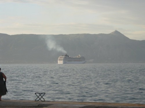 Harbour, Corfu Town.