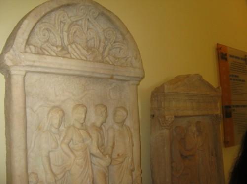 Byzantine stone carving.