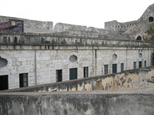 Fortified buildings, the Old Fortress.