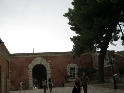Entrance into the Old Fortress.
