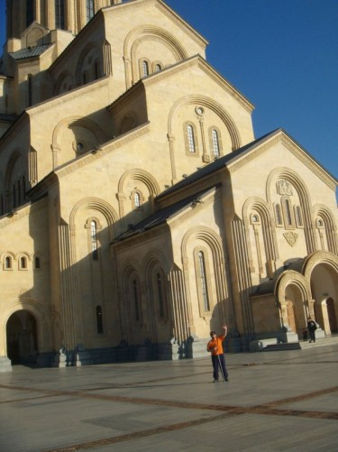 Holy Trinity Cathedral of Tbilisi (commonly known as Sameba), is the main cathedral of the Georgian orthodox church