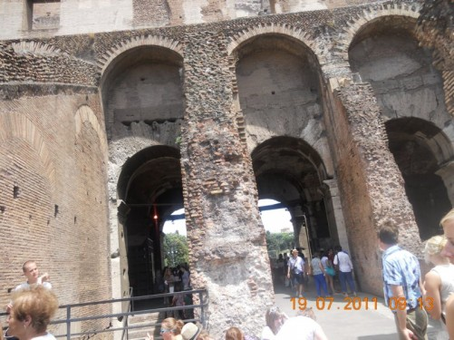 One of the Colosseum's entrances.
