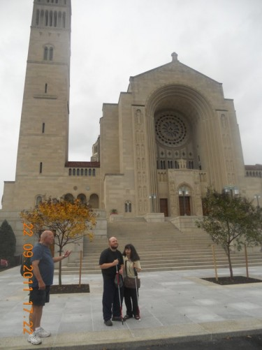The Basilica of the National Shrine of the Immaculate Conception is a Catholic basilica located at 400 Michigan Avenue, Washington, DC.