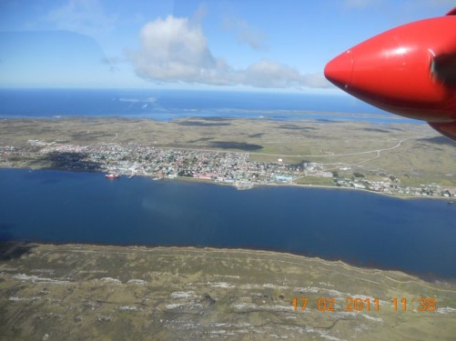Another aerial view of Stanley.