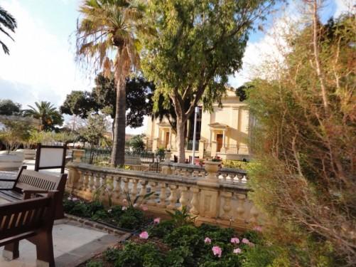 View across the Upper Barrakka Gardens.