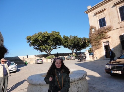 Tatiana, Baston Square, Mdina.