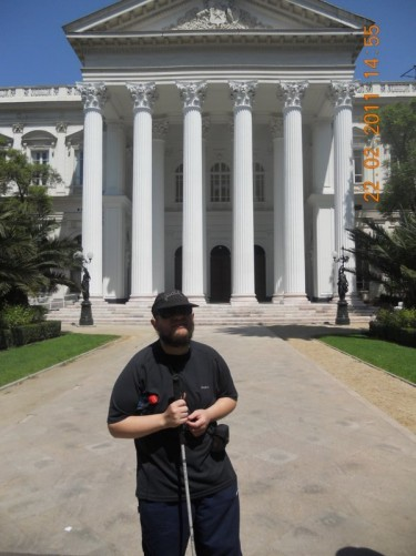 In front of the Former National Congress Building (Ex Congreso Nacional).