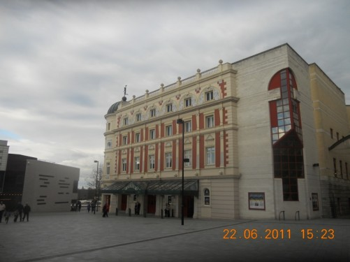 Lyceum Theatre located opposite the Crucible Theatre.