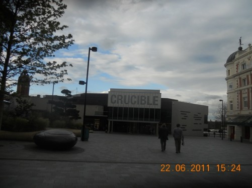 Crucible Theatre, 55 Norfolk Street, home of snooker.