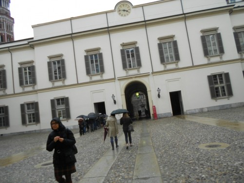 Interior courtyard of the Palazzo Reale (Royal Palace).