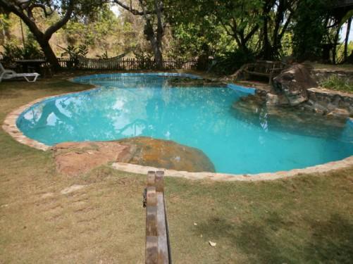 Rock View Lodge swimming pool.