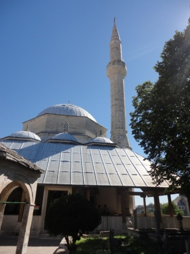 The exterior of the Koski Mehmed-Pasha Mosque.