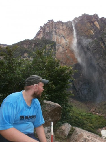 Tony looking towards Angel Falls.