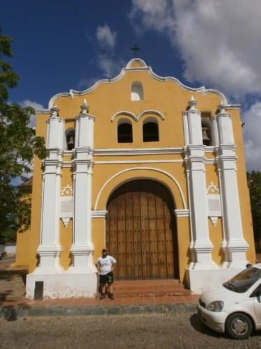 Outside St Clement's Church (Iglesia de San Clemente).