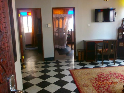 A hall or landing area inside Mercury House.