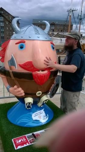 Tony and the Viking.