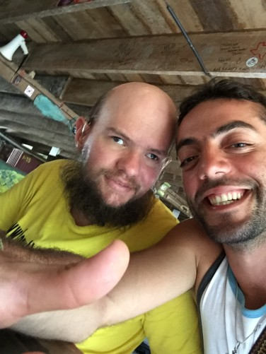 Again Tony and Giuseppe at Rocking J's.