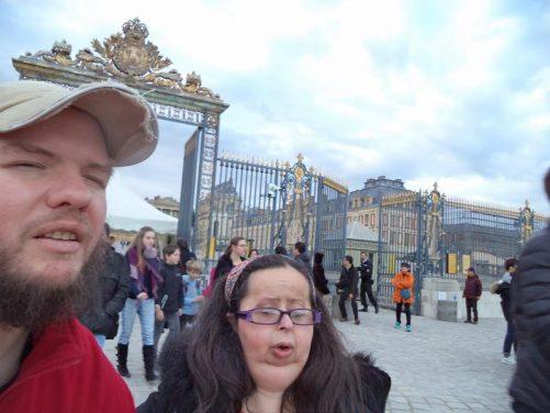Tatiana and Tony at the Main Gate.