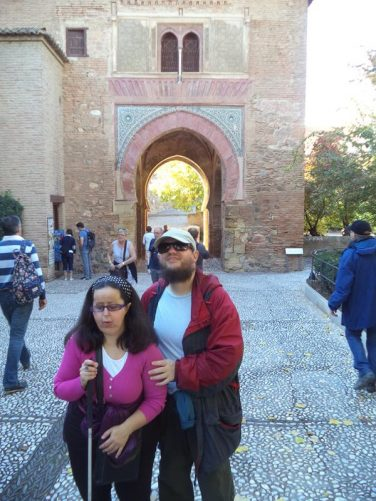 Tatiana and Tony at Puerta de Vino.