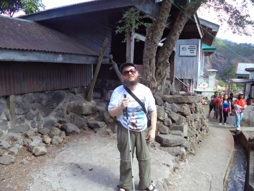 The Philippines, January 2019 – Tony Giles, Blind Author and World