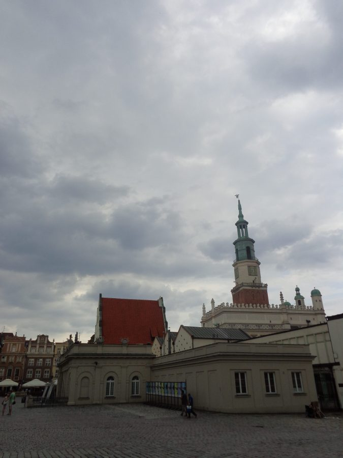 Another view of the Old Town Hall  and surrounding buildings in the centre of Old Market Square.